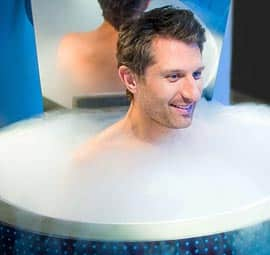 cryotherapy chamber gym srq